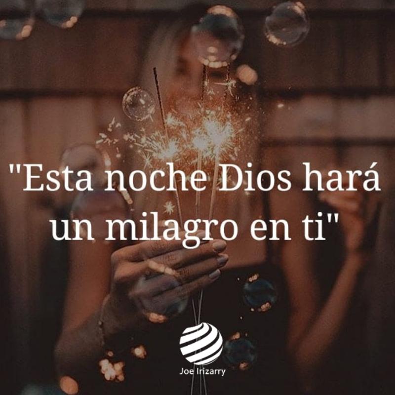 Dios hará un milagro en ti